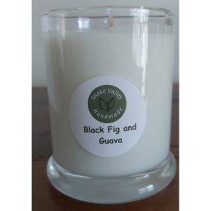 Scented Soy Candle Jars (Black and Clear Jars)