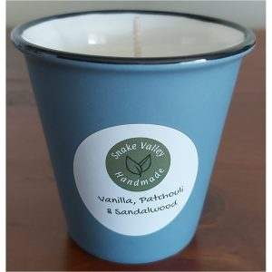 Scented Soy Candle Espresso Cups (Re-Usable) – Limited Edition – Vanilla, Patchouli and Sandalwood